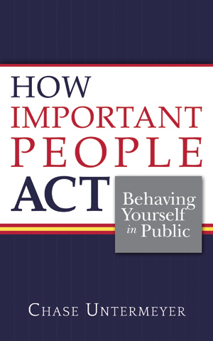 How Important People Act book cover